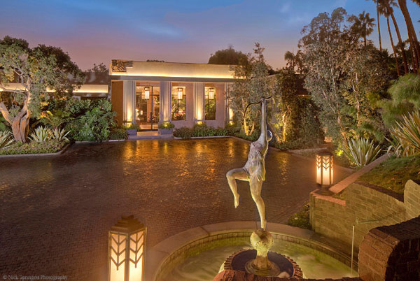 Jeremy Renner's Beverly Glen Mansion
