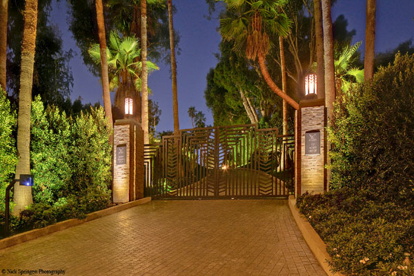 Jeremy Renner's Beverly Glen Mansion