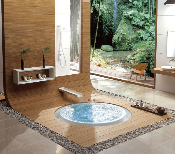 Oriental Overflow bathtub
