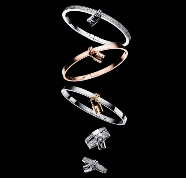 Louis Vuitton Lockit jewellery