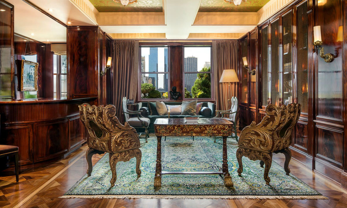 Sherry-Netherland's Apartment on Sale for $95 Million with $60,000 in Monthly Maintenance Fees