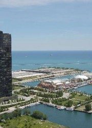 3.4 Million Lux Condo in Chicago's Lake Point Tower with Garage full of Ferraris