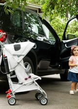 Maclaren BMW Stroller Arrives at Harrods