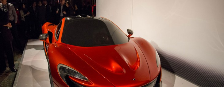 McLaren Shows P1 At Private Event In Beverly Hills