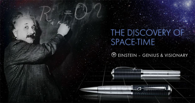 Montblanc Albert Einstein Limited Edition – Inspired by Theory of Physics