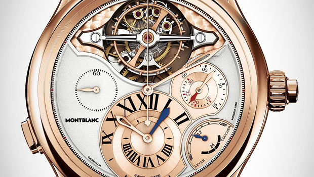 SIHH 2013 Montblanc Collection Villeret 1858 – ExoTourbillon Chronographe With New Face