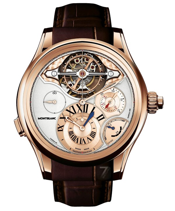 Montblanc Collection Villeret 1858 Tourbillon ExoTourbillon Chronographe