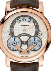 Montblanc Nicolas Rieussec Rising Hours at SIHH 2013