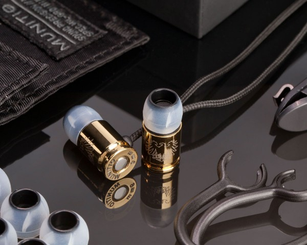 Munitio Nines GLD Tactical 9mm Earphones