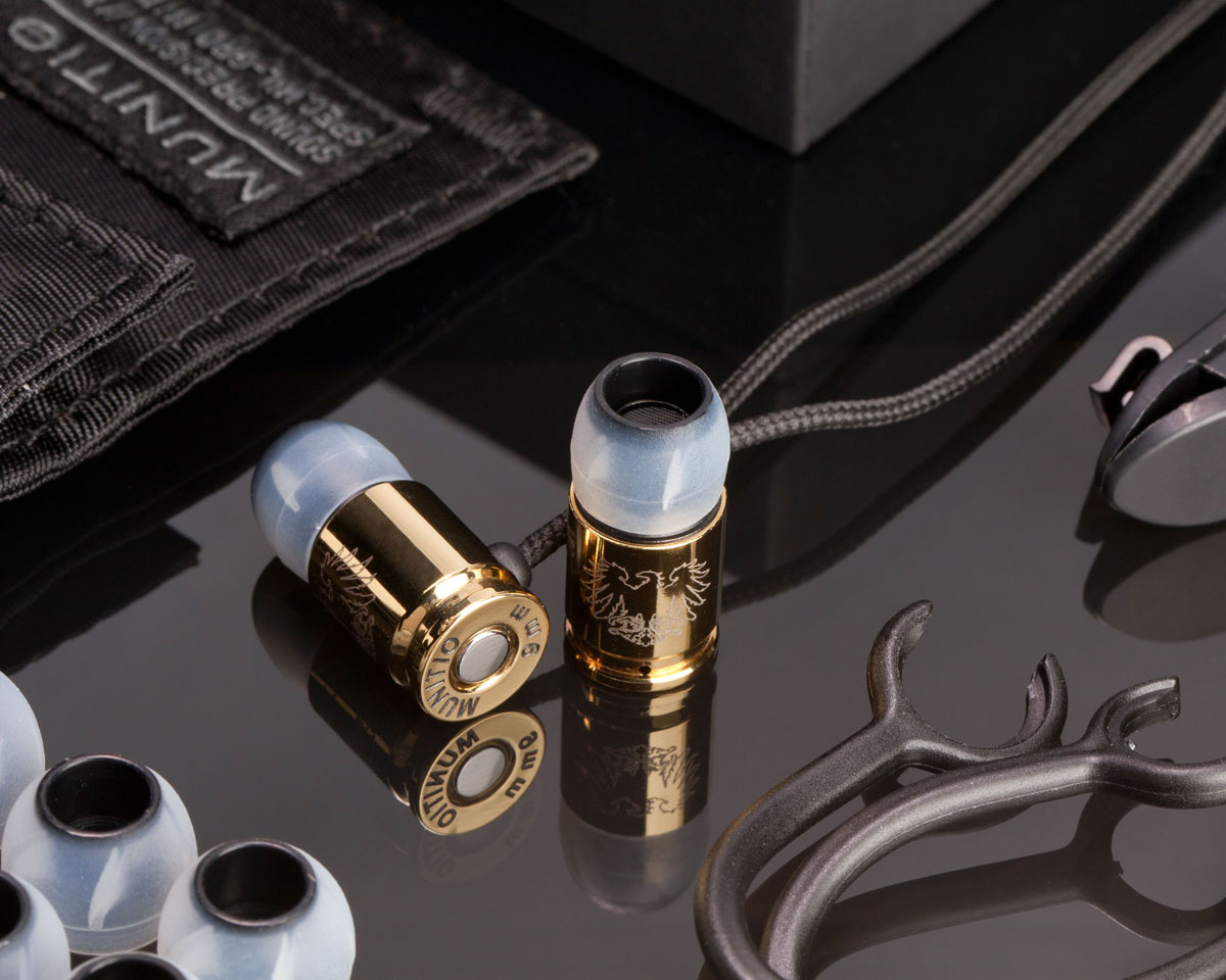 Munitio&#8217;s Nines Tactical Earphones at CES 2013