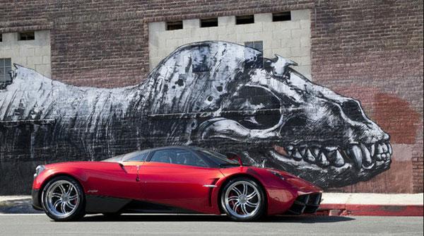 Pagani Huayra Chassis No. 01