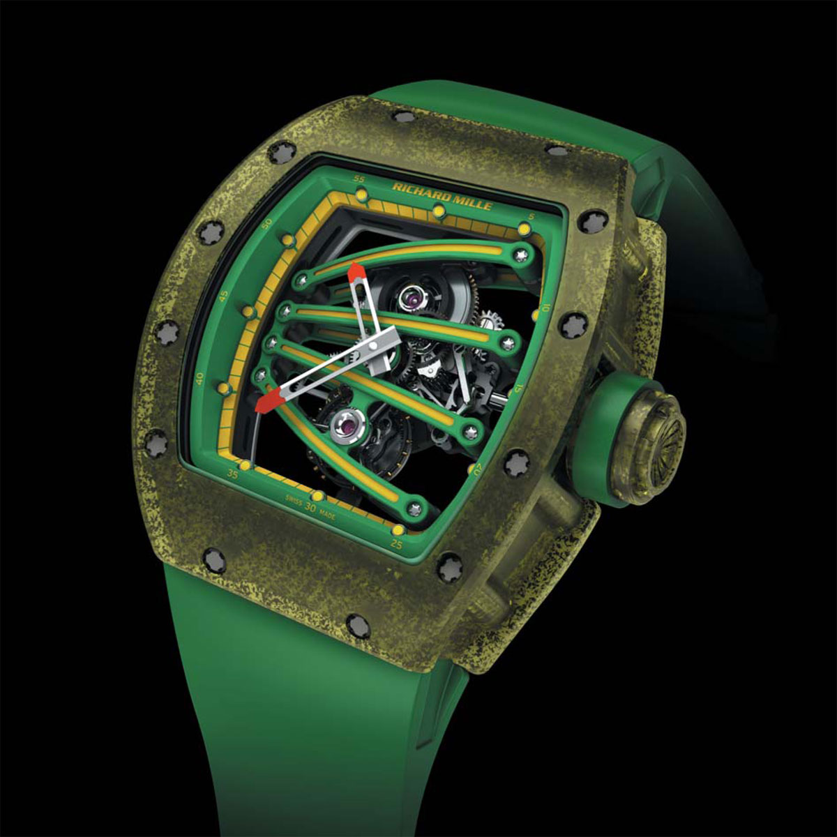 Richard Mille RM 59-01 Tourbillon for Yohan Blake at 2013 SIHH