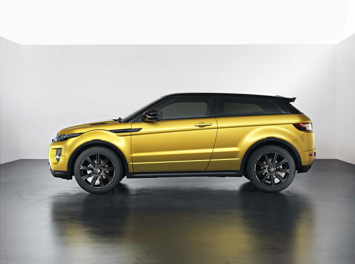 evoque sicilian yellow limited edition by range rover. Black Bedroom Furniture Sets. Home Design Ideas