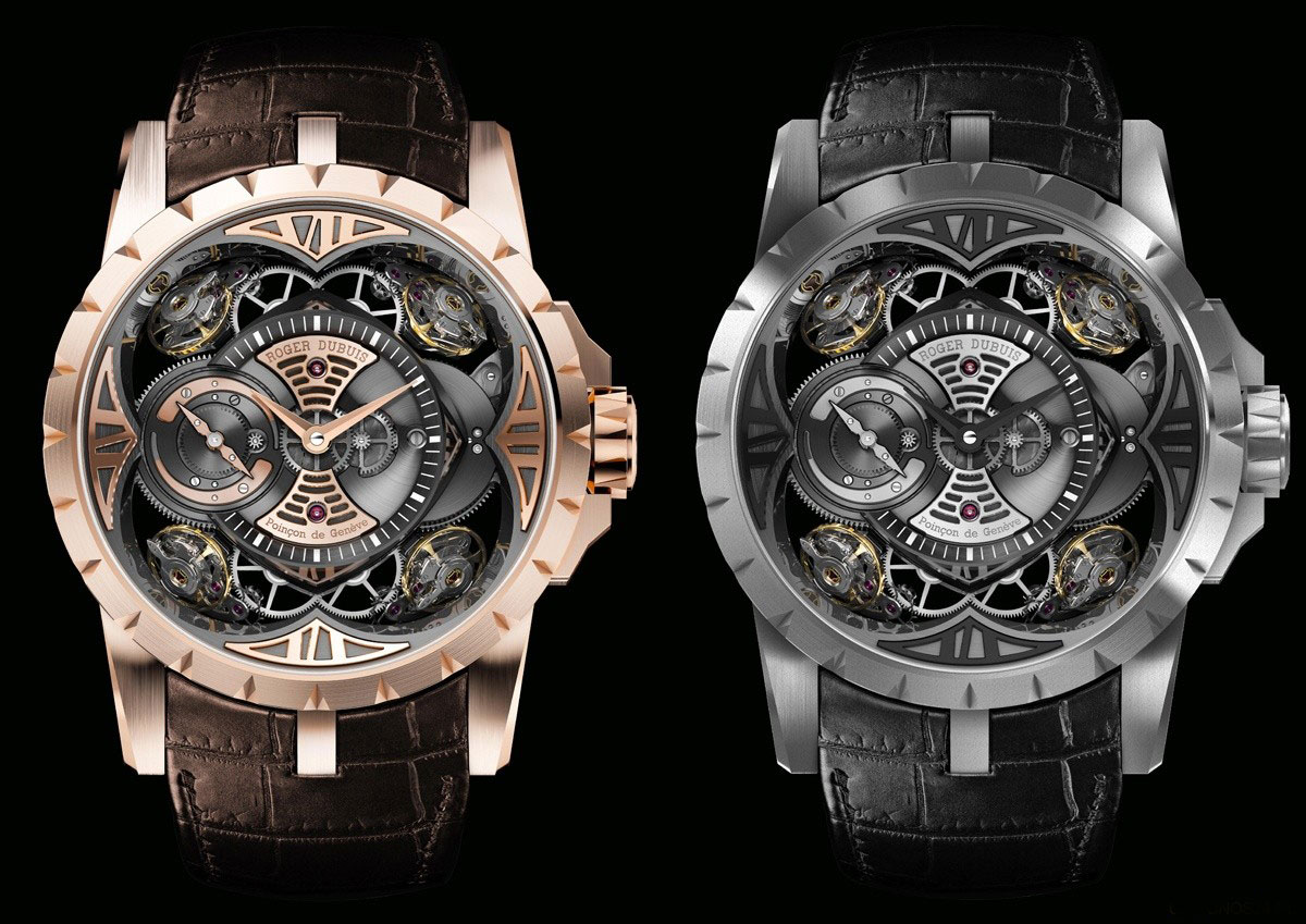 Roger Dubuis Excalibur Quatuor 16Hz Watches
