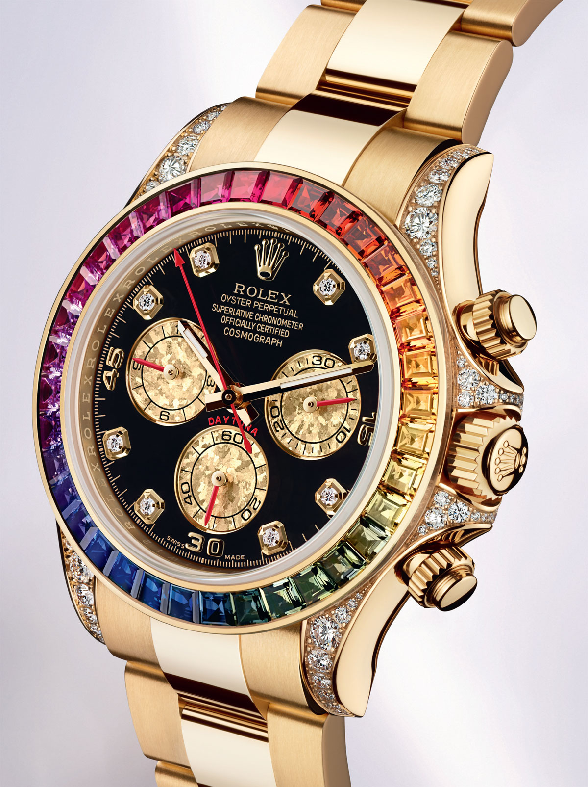 Rolex Cosmograph Daytona Rainbow Boasts Colourful Design