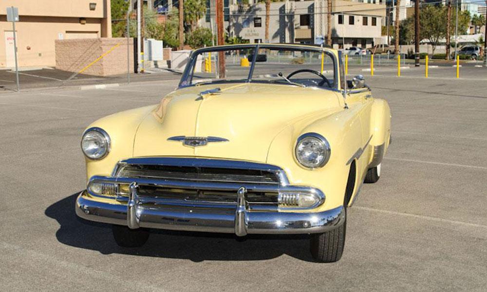 Steve McQueen's 1951 Chevrolet Styleline DeLuxe Convertible Coupe