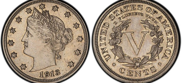 The 1913 Liberty Head nickel