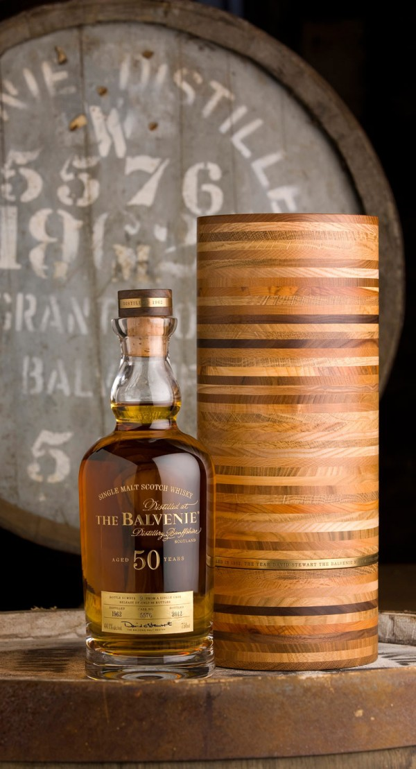 The Balvenie Distillery celebrates malt master David Stewart's 50 years dedication to distillery by launching the Balvenie Fifty