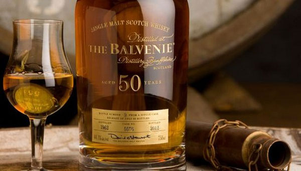 The Balvenie Fifty Celebrate Malt Master David Stewart's 50 Years with the Distillery