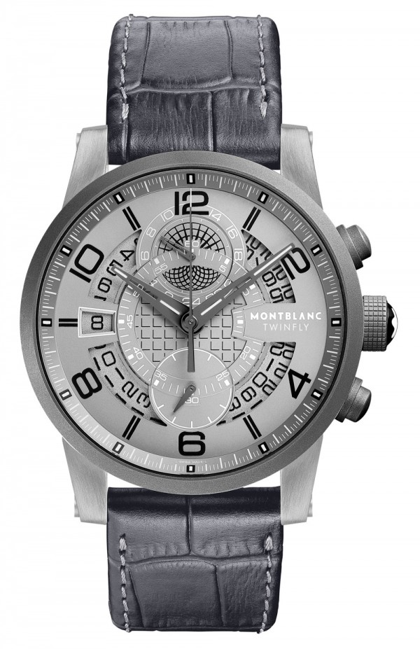 The Montblanc TimeWalker TwinFly Chronograph