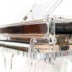 Crystal Music Company's Handcrafted Transparent Crystal Grand Pianos for Crystal-clear Sound