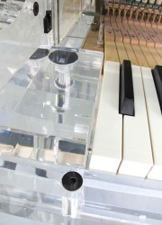 Transparent Crystal Grand Piano