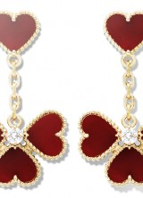 Heart-shaped Jewelry by Van Cleef & Arpels for Valentine's Day 2013