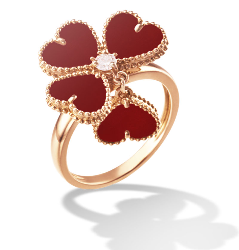 Heart-shaped Jewelry by Van Cleef & Arpels for Valentine's Day ...