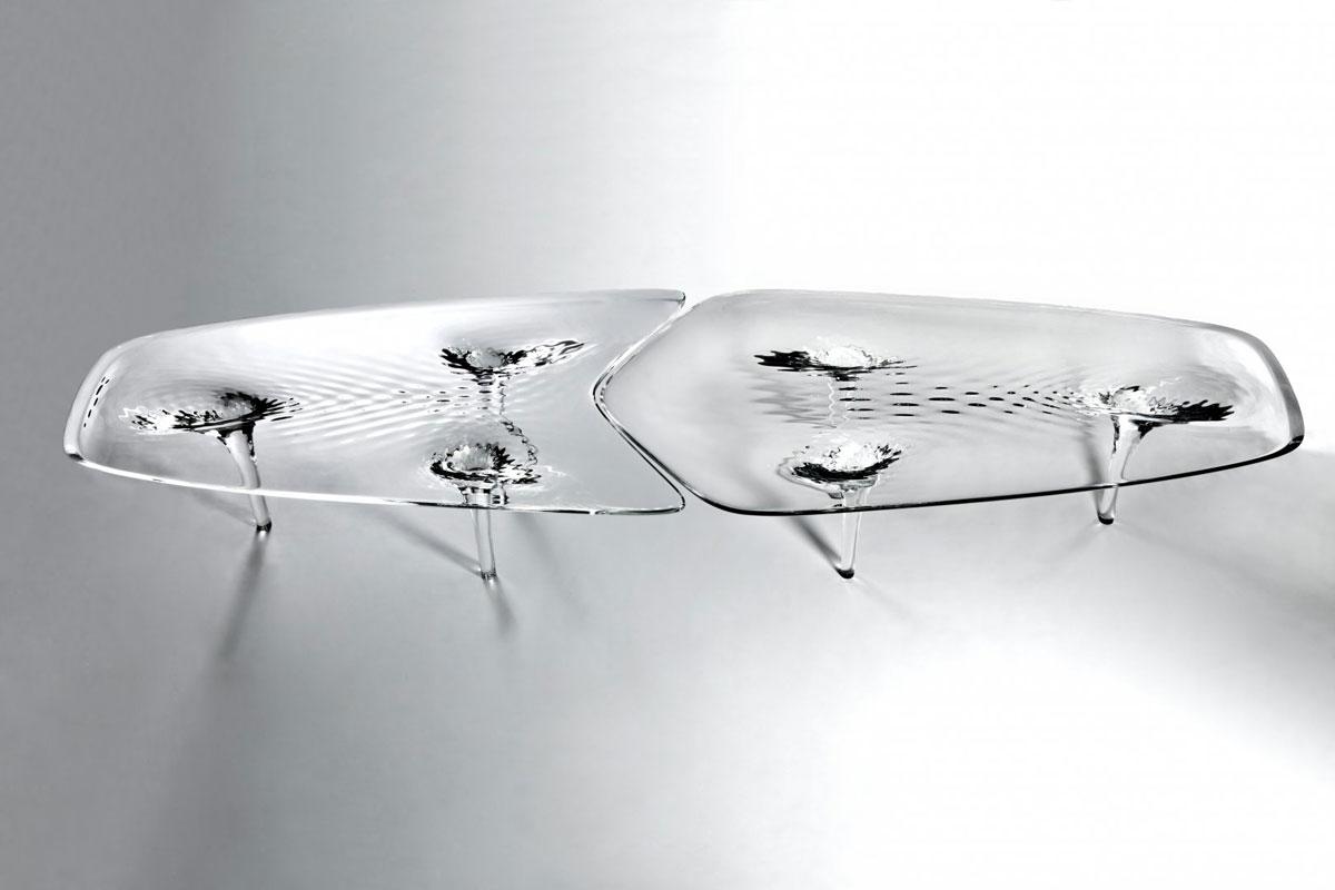 Zaha Hadid Liquid Glacial Coffee Table For Whopping 160