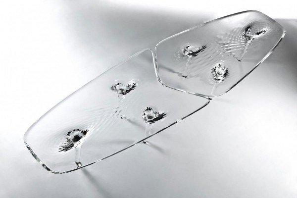 Zaha Hadid's Liquid Glacial Coffee Table