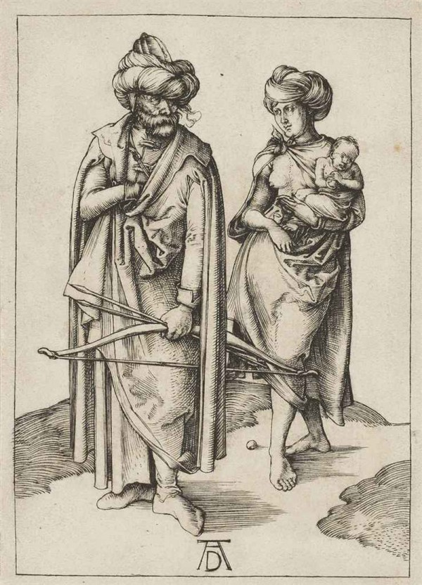 Albrecht Dürer  - A Turkish Family