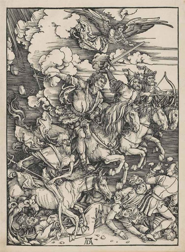 Albrecht Dürer - The Four Horsemen of the Apocalypse