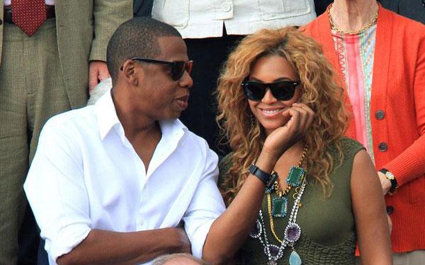 Jay Z an Beyonce