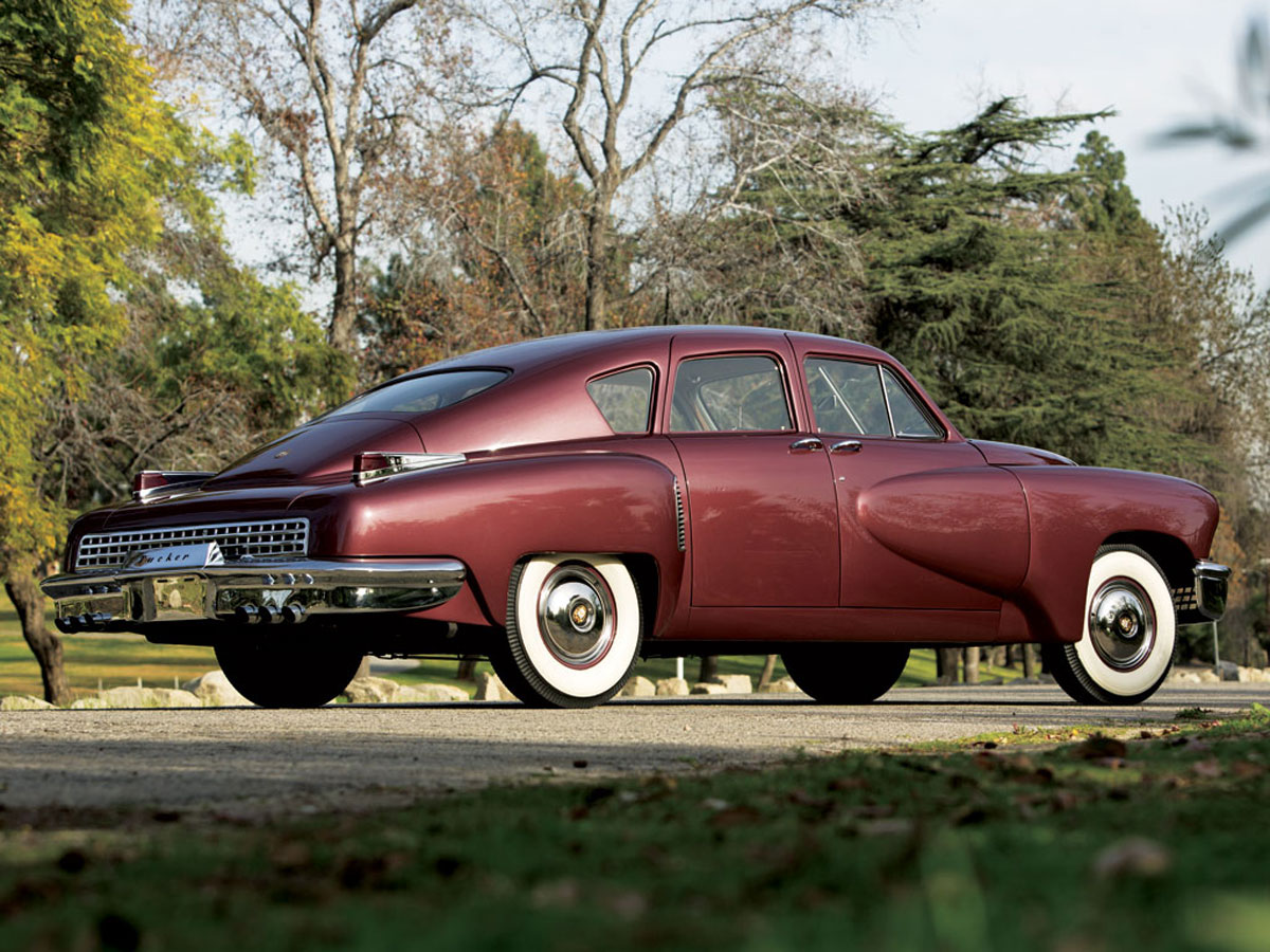 1948 Tucker 48 On Rm Auction Extravaganzi