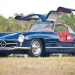 Auctions America Fort Lauderale Offers 1955 Mercedes-Benz 300SL 'Gullwing'