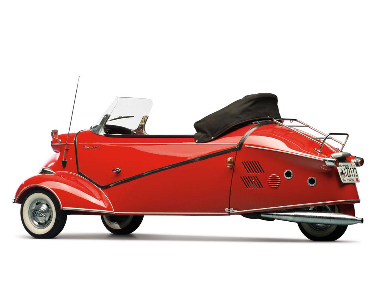Sold Messerschmitt Kr200 3 Wheeler Microcar Auctions: 1957 Messerschmitt KR 201 Roadster On RM Auction