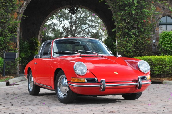 1967 Porsche 911 Soft Window Targa