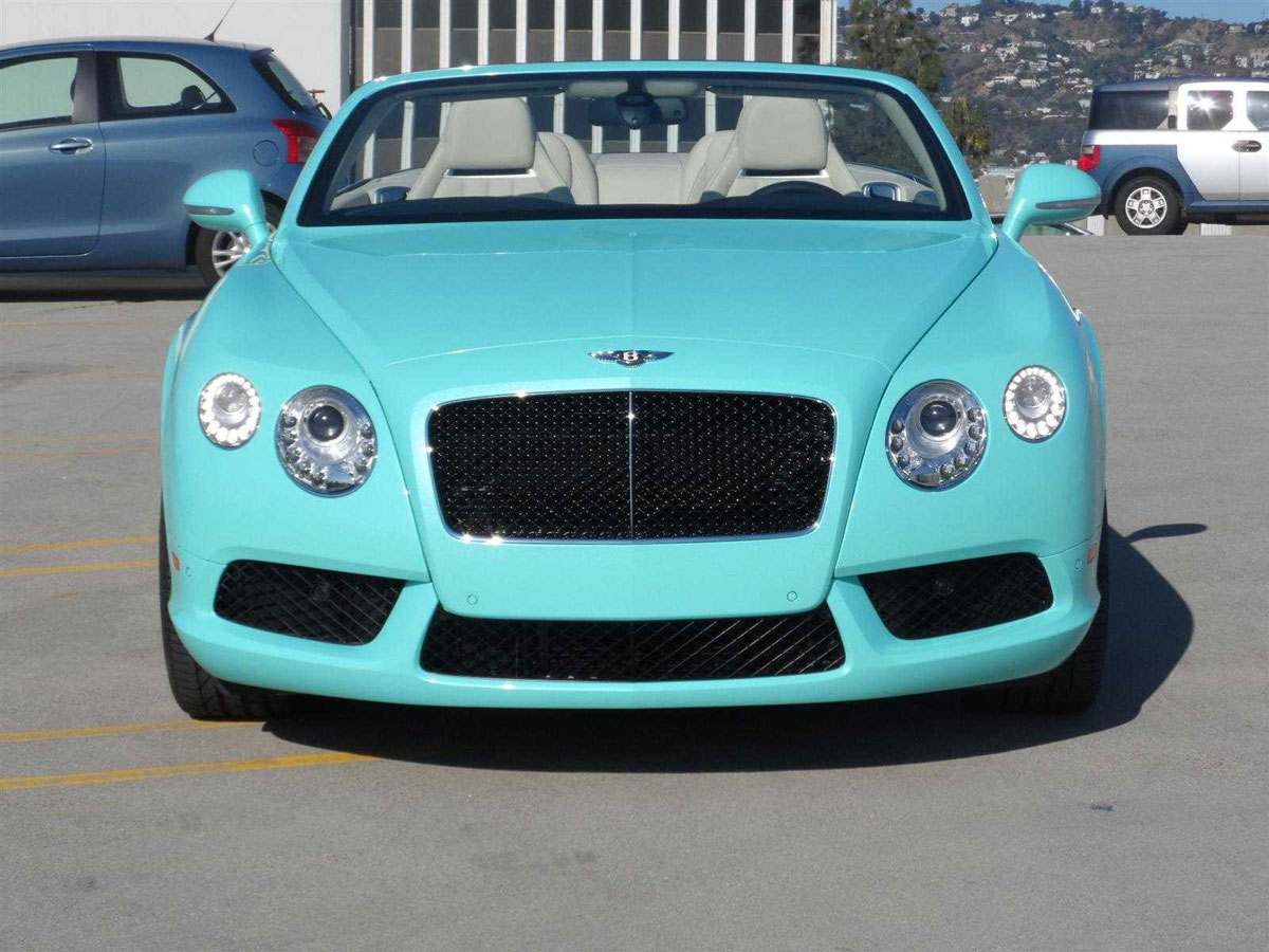 2013 Bentley Continental GTC V8 Beverly Hills Limited Edition ...