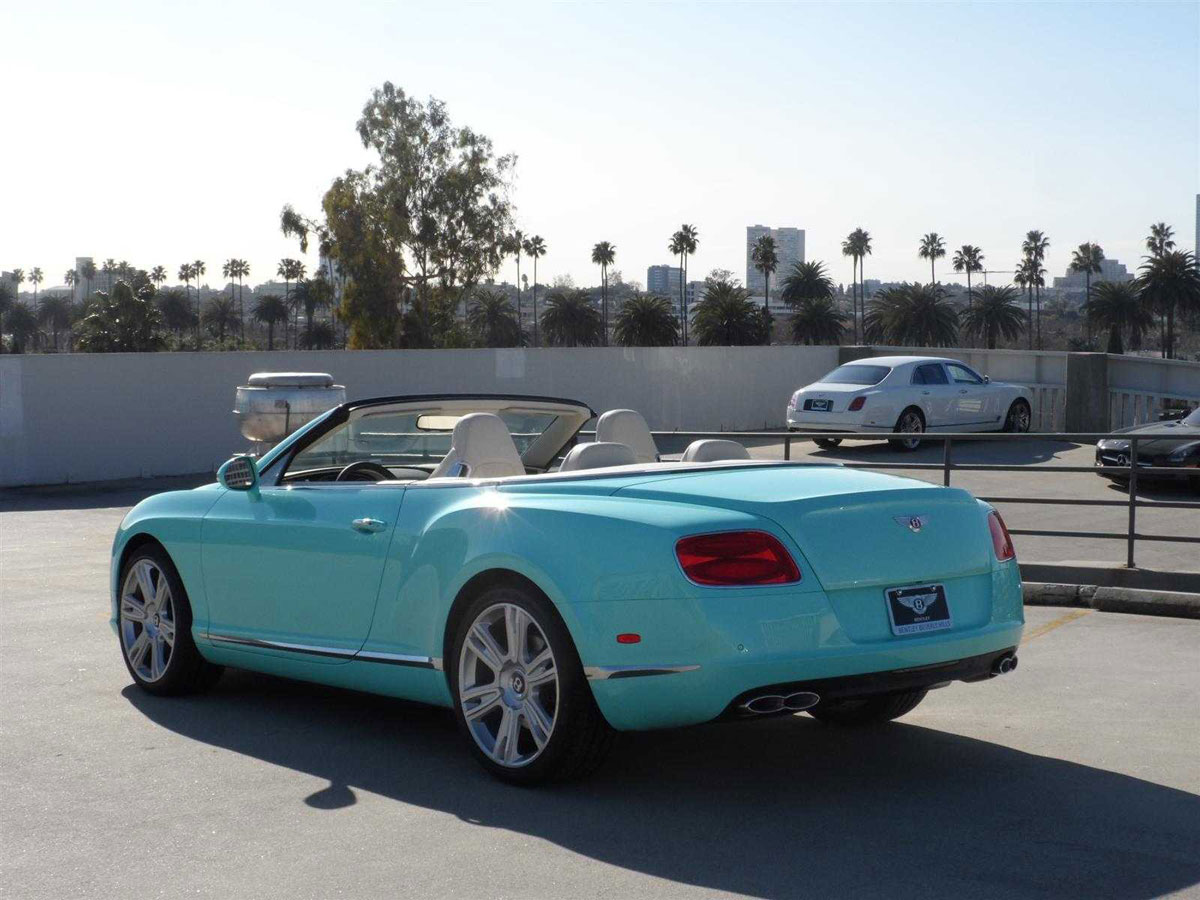 2013 bentley continental gtc v8 beverly hills limited edition extravaganzi. Cars Review. Best American Auto & Cars Review