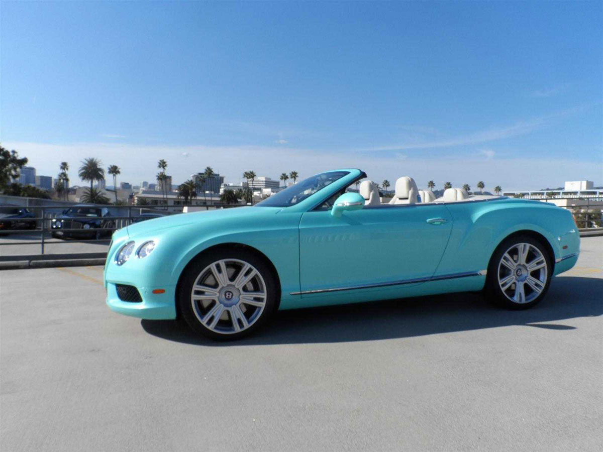 2013 Bentley Continental GTC V8 Beverly Hills Limited Edition