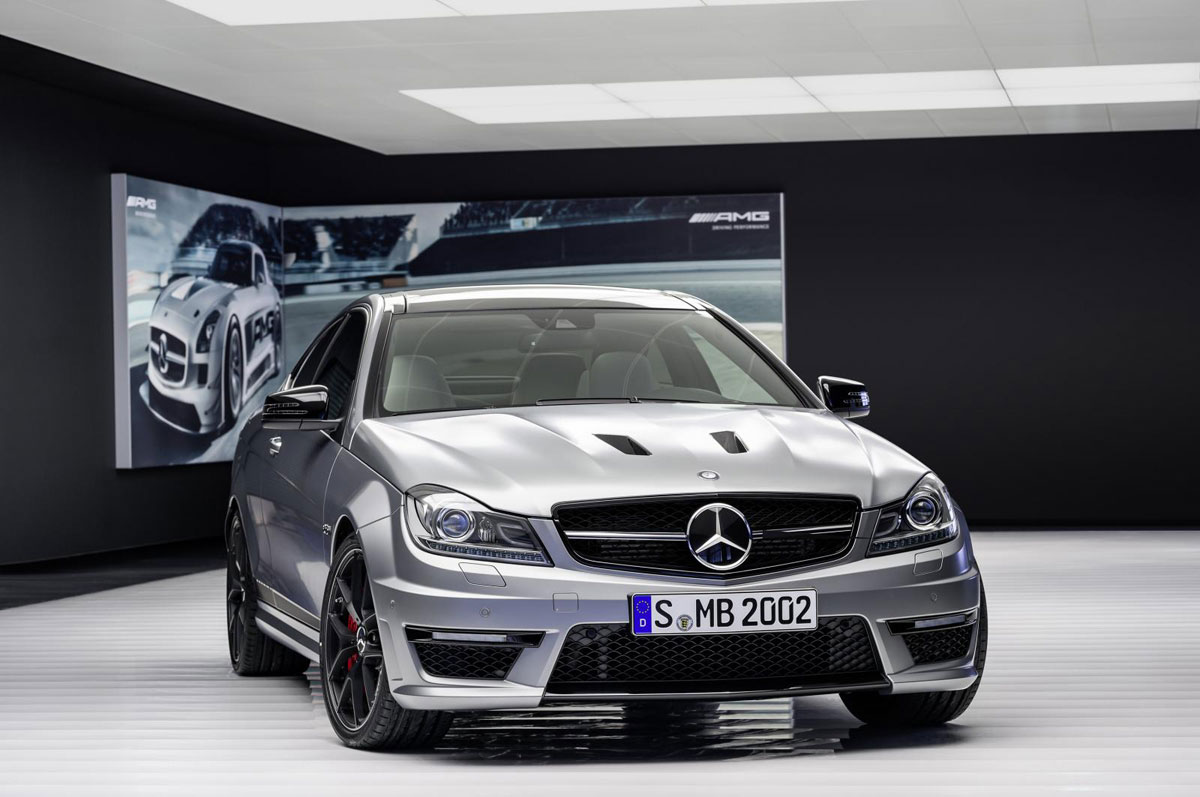 2014 mercedes benz c63 amg edition 507 the sports car