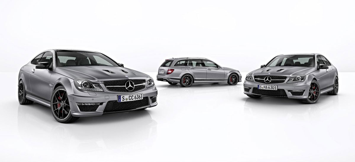 New 2014 Mercedes-Benz C63 AMG Edition 507