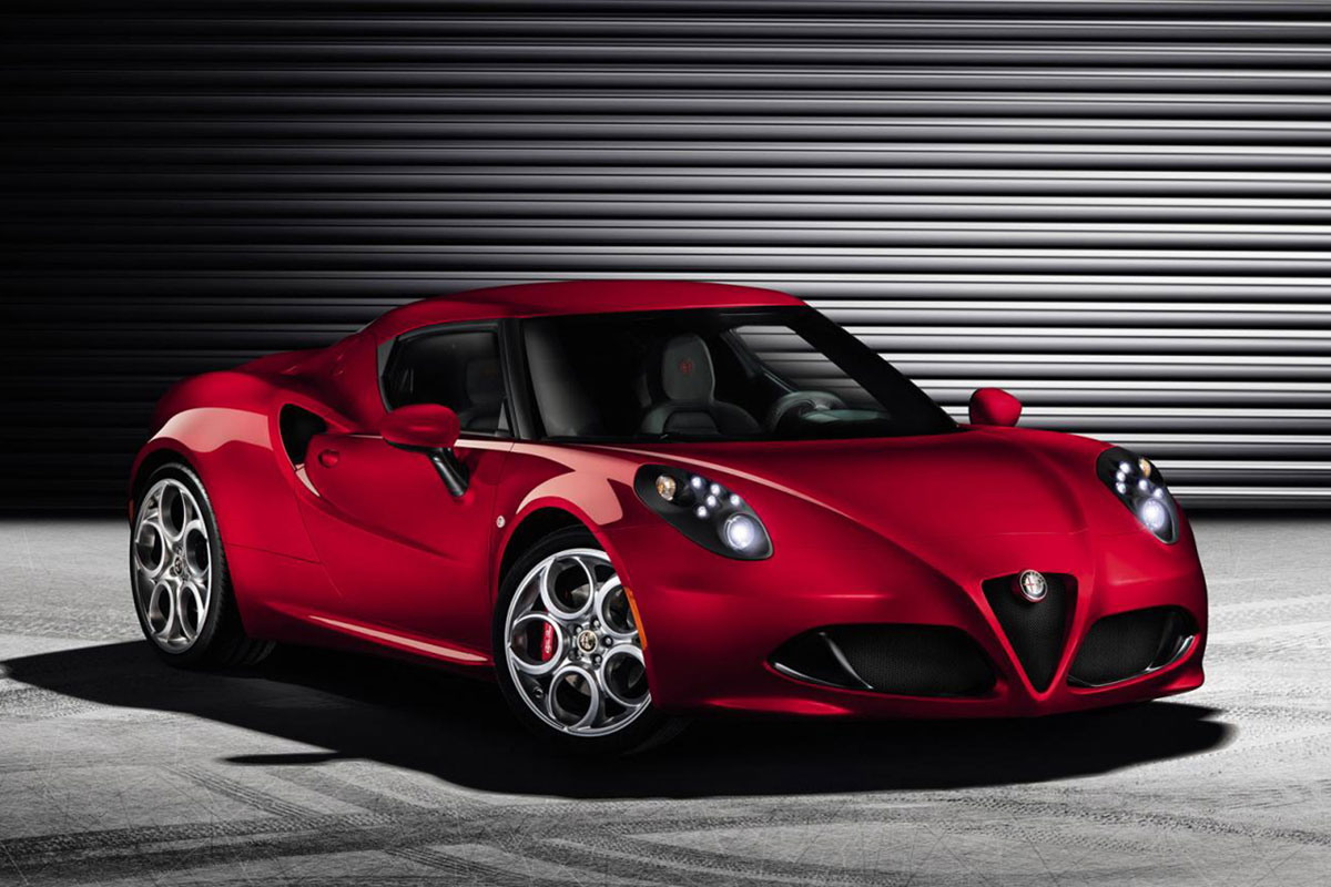 Alfa Romeo 4C Ready For Geneva Motor Show