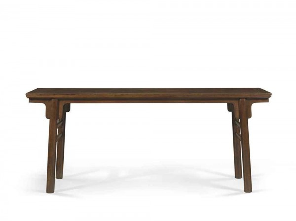 A Very Rare Large Huanghuali Recessed-Leg Altar Table (estimate: $500,000-700,000)