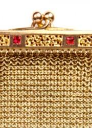 Suzanne Mounts' Antique Victorian Gold Change Purse Collection