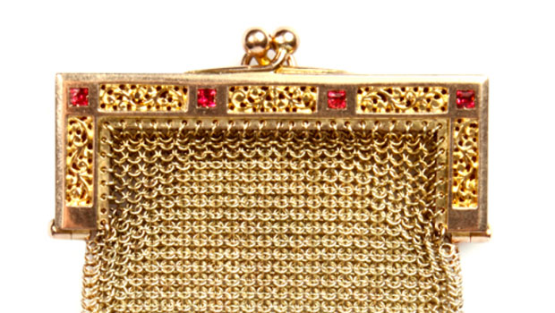 Suzanne Mounts' Antique Victorian Gold Change Purse Collection
