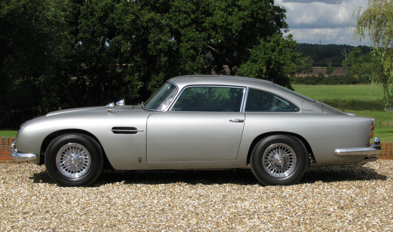 Aston Martin Db5 Driven By James Bond On Sale For 4 7