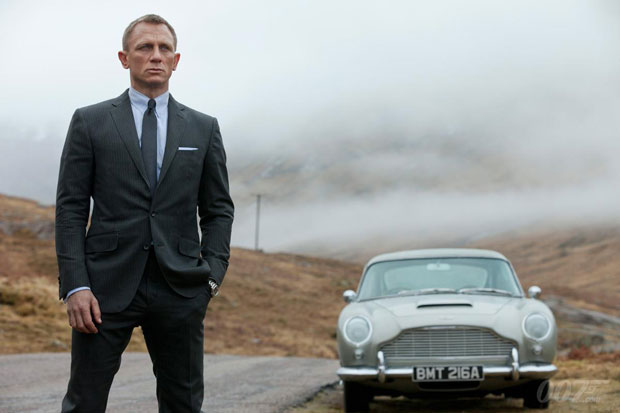 Aston Martin DB5 Driven By James Bond