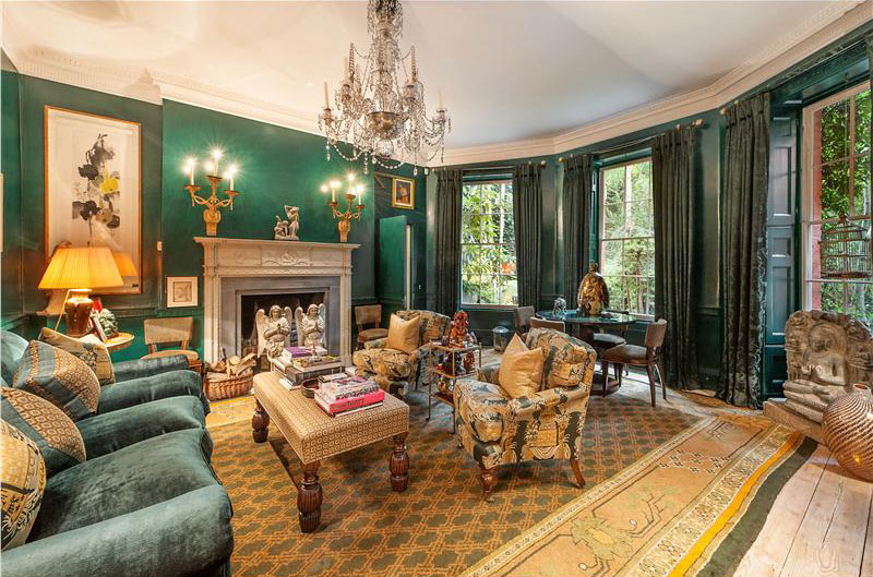 Historic belle vue house in london 39 s chelsea on sale by for Old home interior pictures for sale