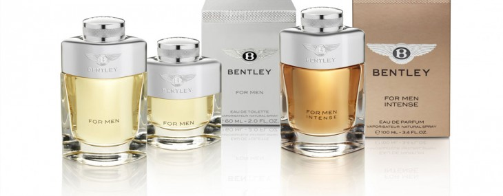 Bentley launches its first luxury fragrance range for men